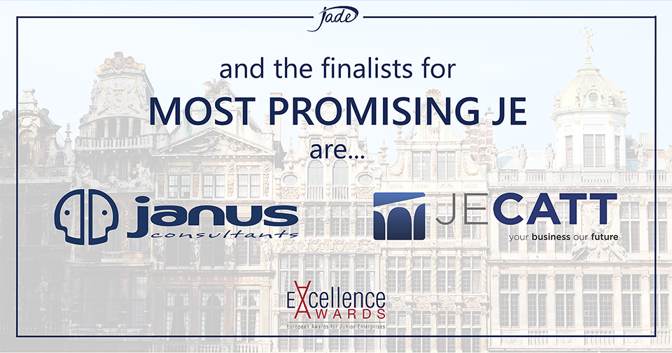janus Consulting and JECatt are Finalists for Most Promising JE