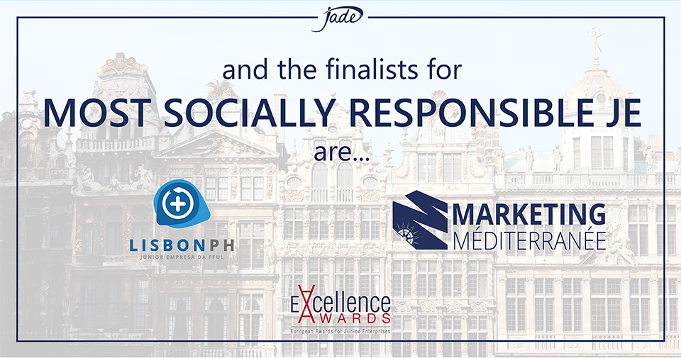 LisbonPH and MarketingMediterranee are Finalists for Most Socially Responsible JE